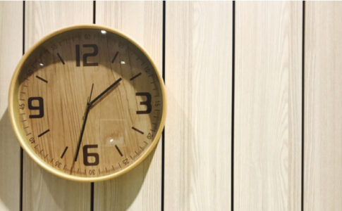 無垢 掛け時計